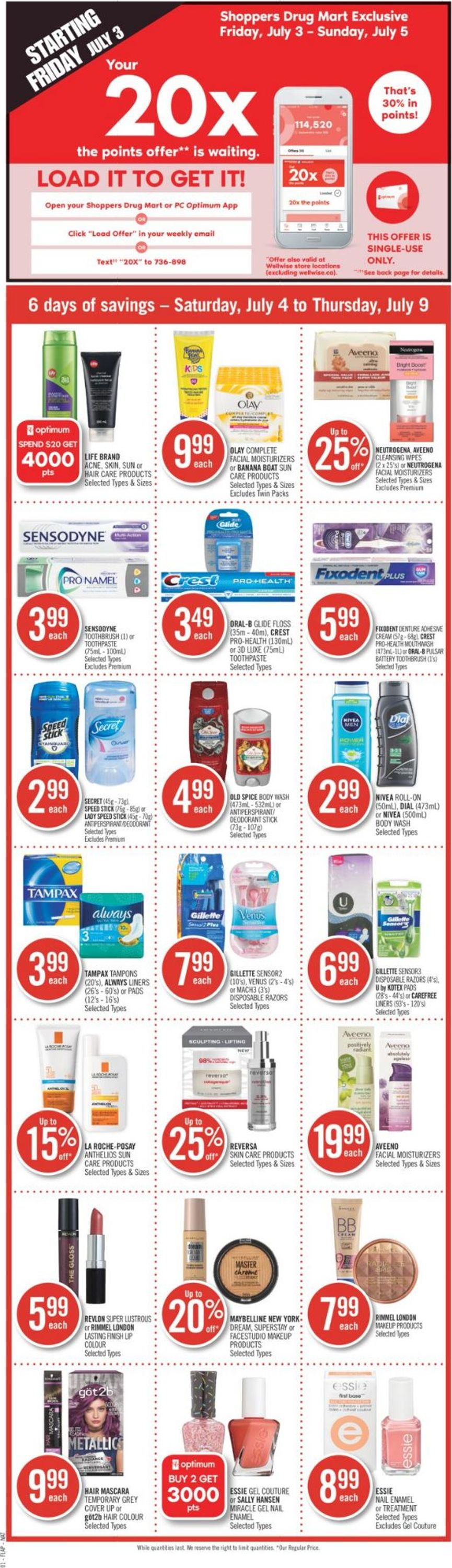 Shoppers Flyer - 07/04-07/09/2020 (Page 2)