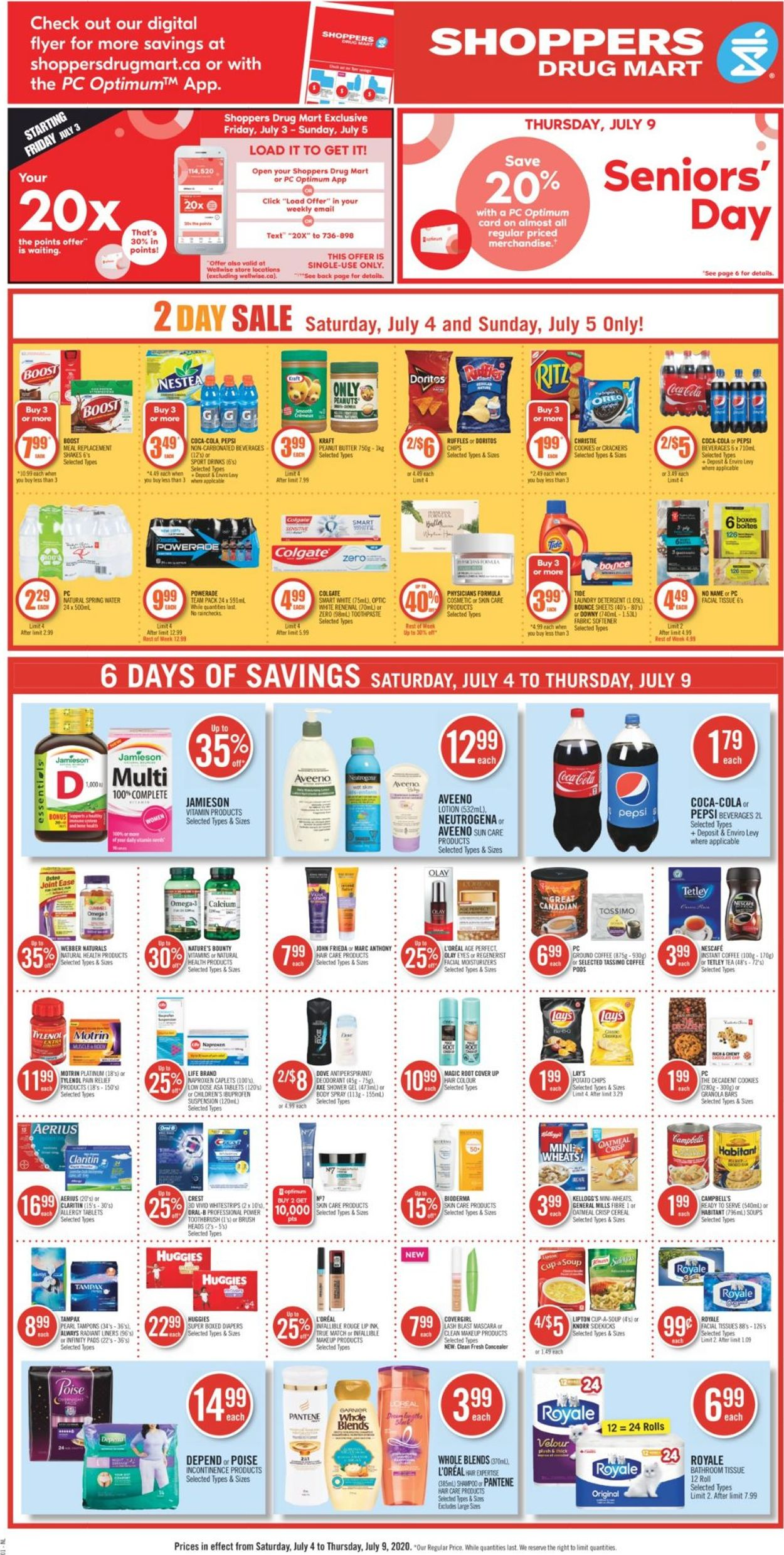 Shoppers Flyer - 07/04-07/09/2020 (Page 4)