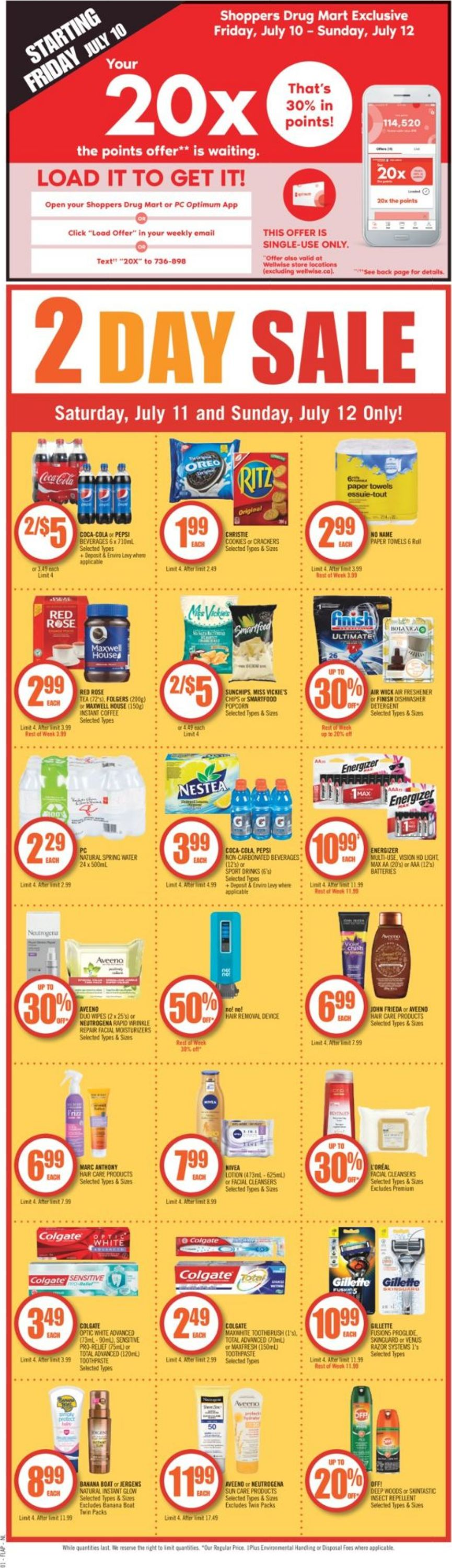 Shoppers Flyer - 07/11-07/16/2020 (Page 2)