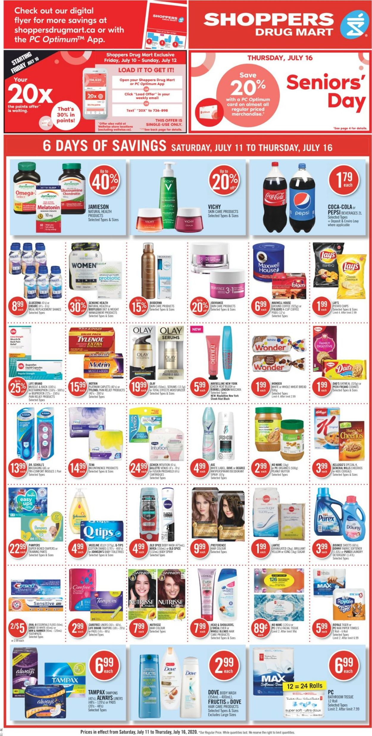 Shoppers Flyer - 07/11-07/16/2020 (Page 4)
