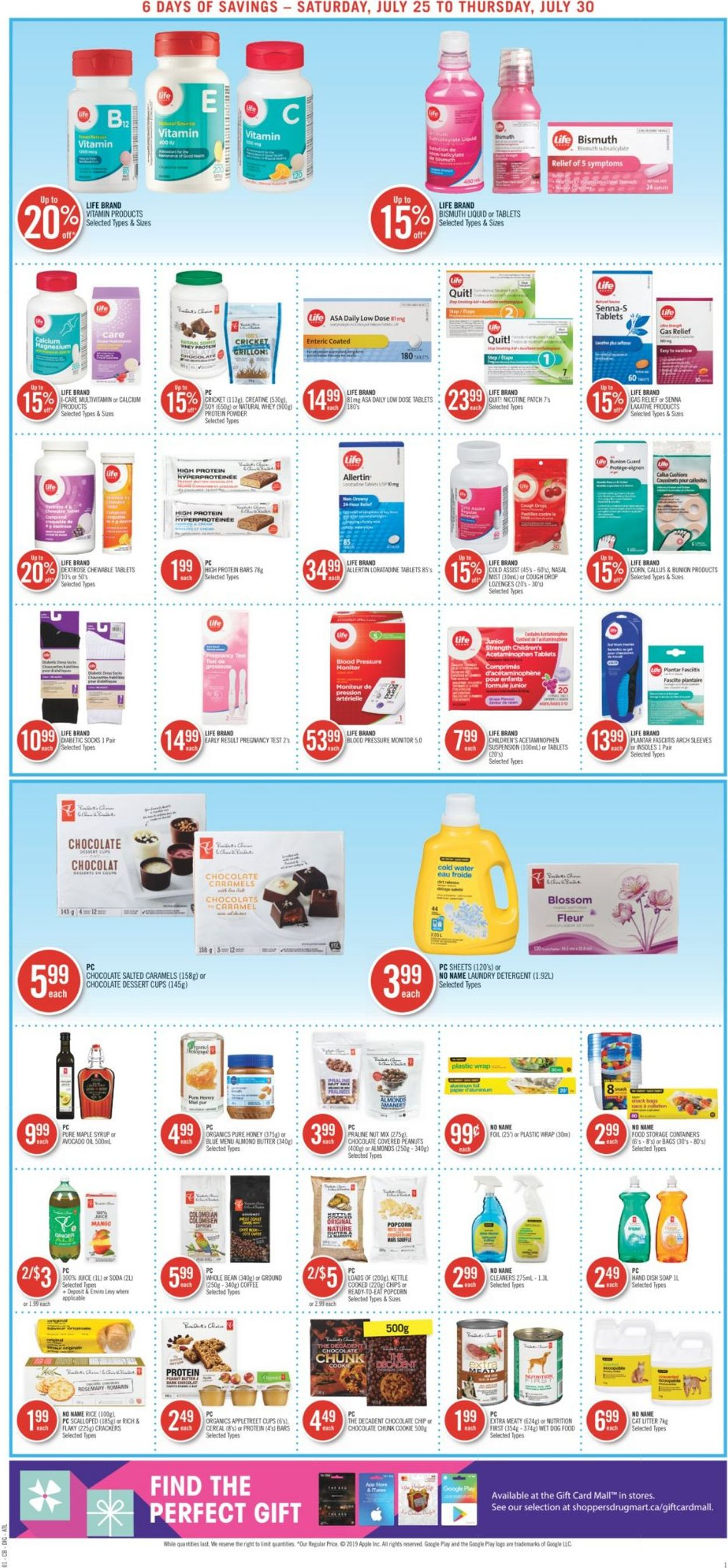 Shoppers Flyer - 07/25-07/31/2020 (Page 9)