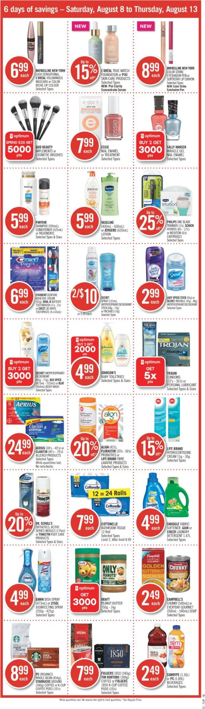 Shoppers Flyer - 08/08-08/13/2020 (Page 3)