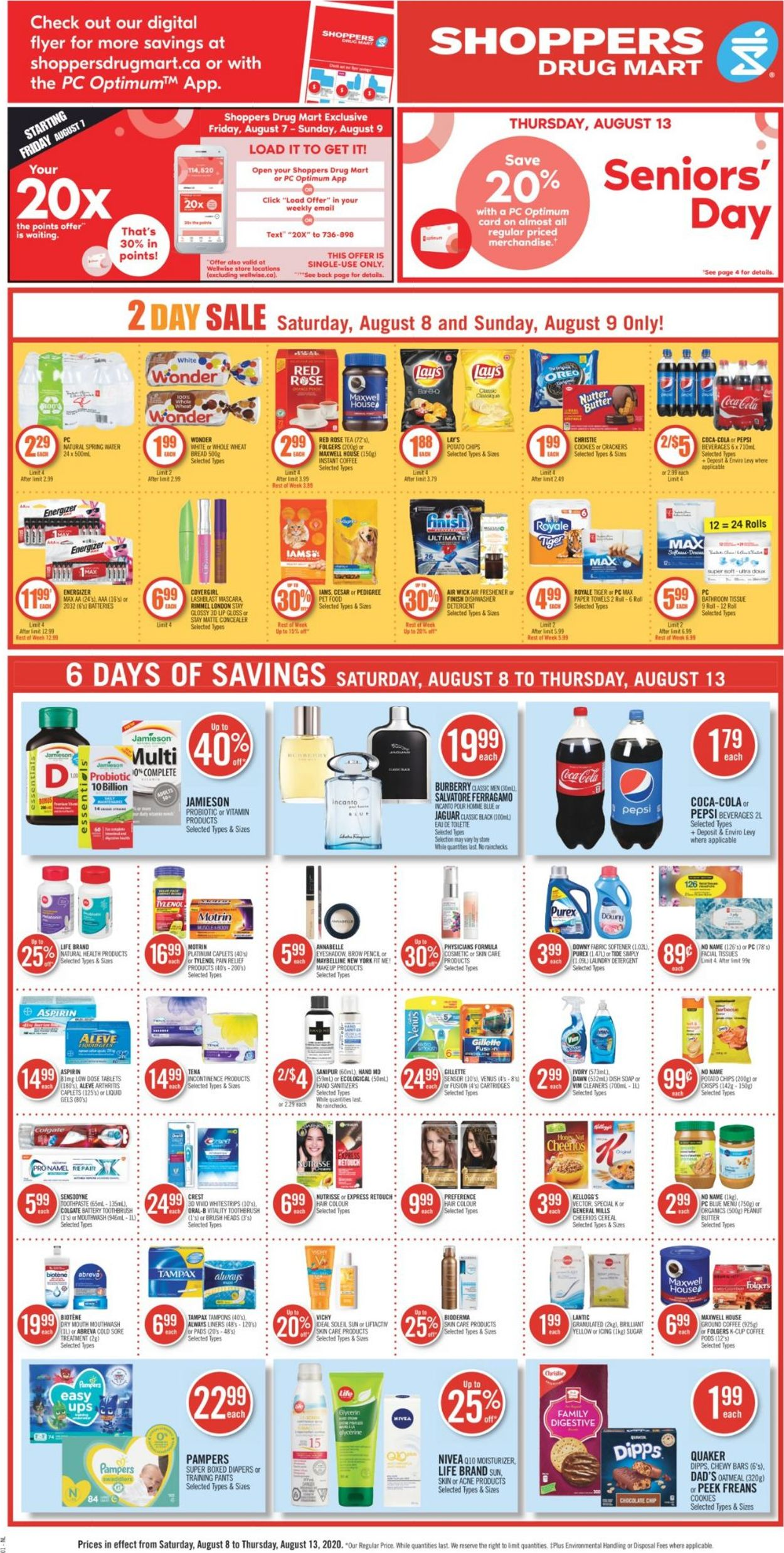 Shoppers Flyer - 08/08-08/13/2020 (Page 4)