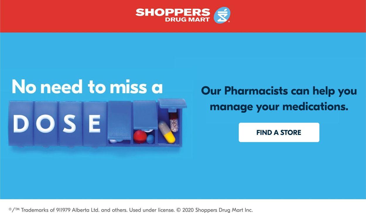 Shoppers Flyer - 08/15-08/21/2020