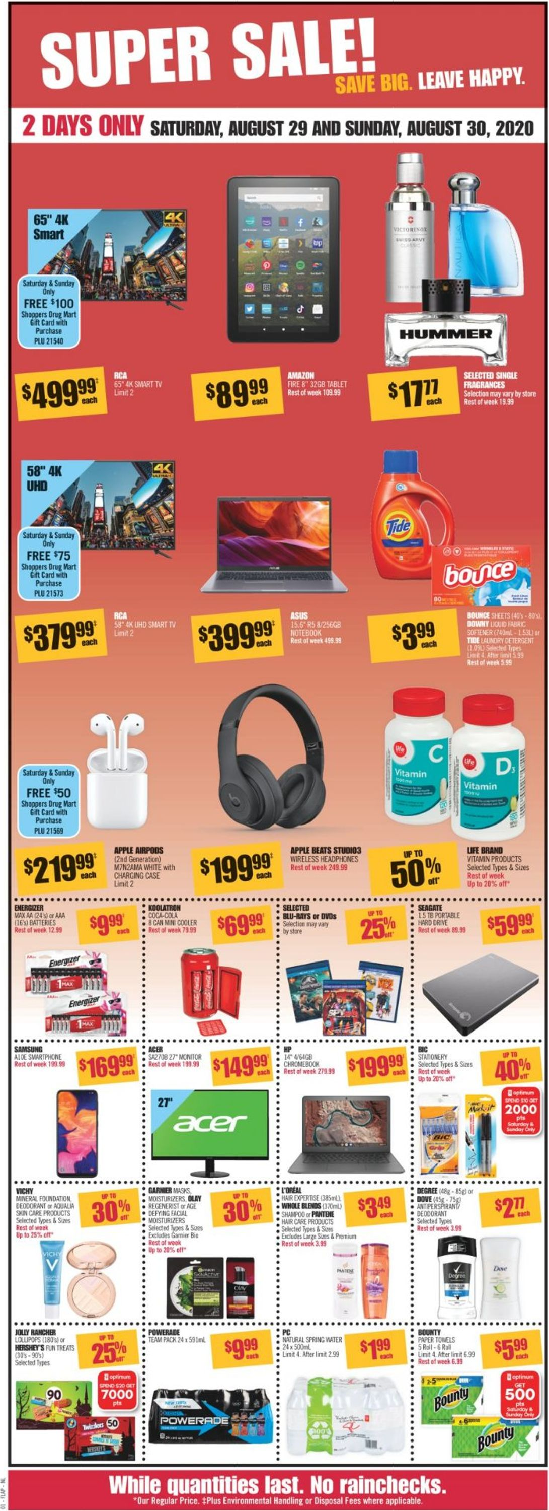 Shoppers Flyer - 08/29-09/03/2020 (Page 2)