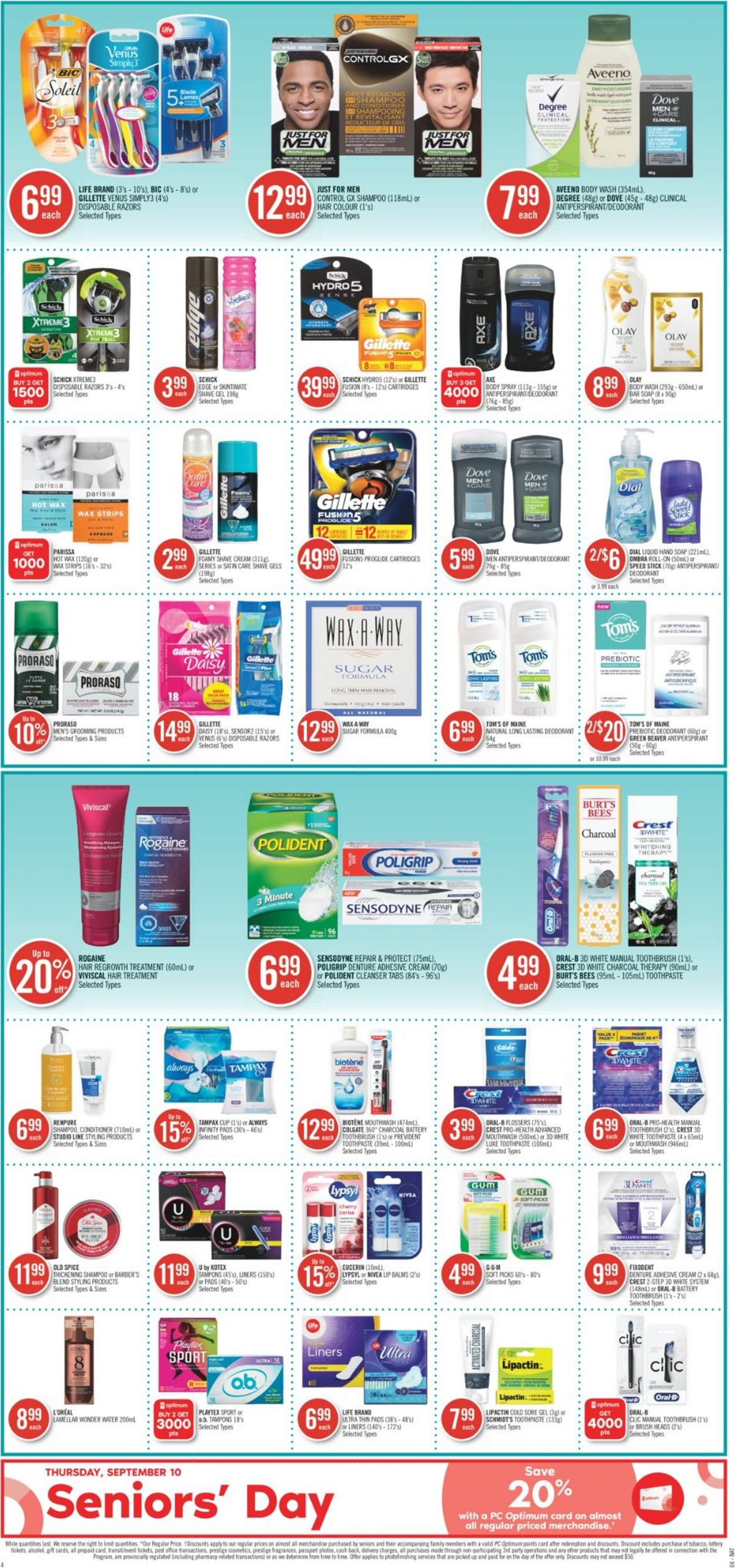 Shoppers Flyer - 09/05-09/11/2020 (Page 13)
