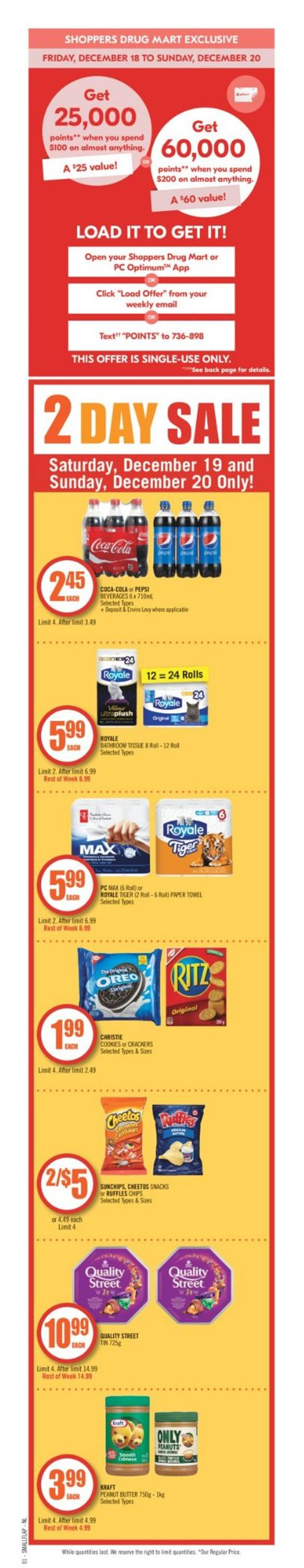 Shoppers - Holiday 2020 Flyer - 12/19-12/22/2020 (Page 2)