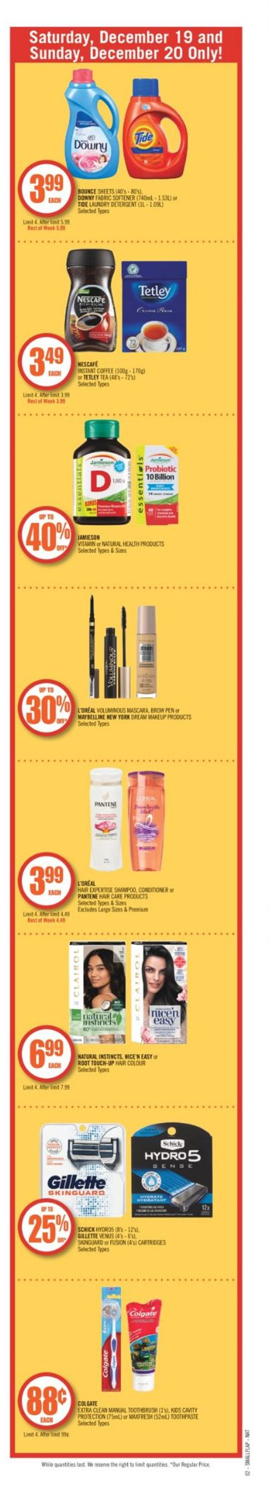 Shoppers - Holiday 2020 Flyer - 12/19-12/22/2020 (Page 3)