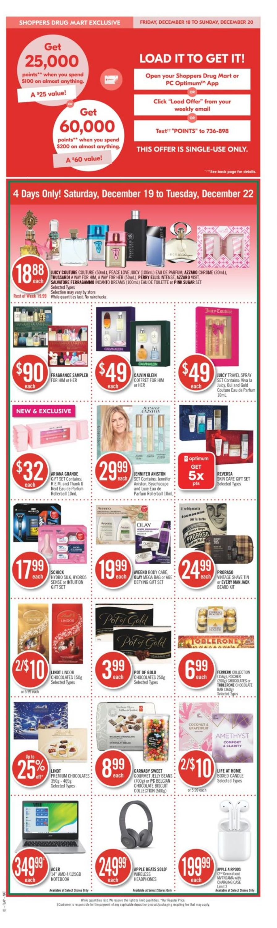 Shoppers - Holiday 2020 Flyer - 12/19-12/22/2020 (Page 4)