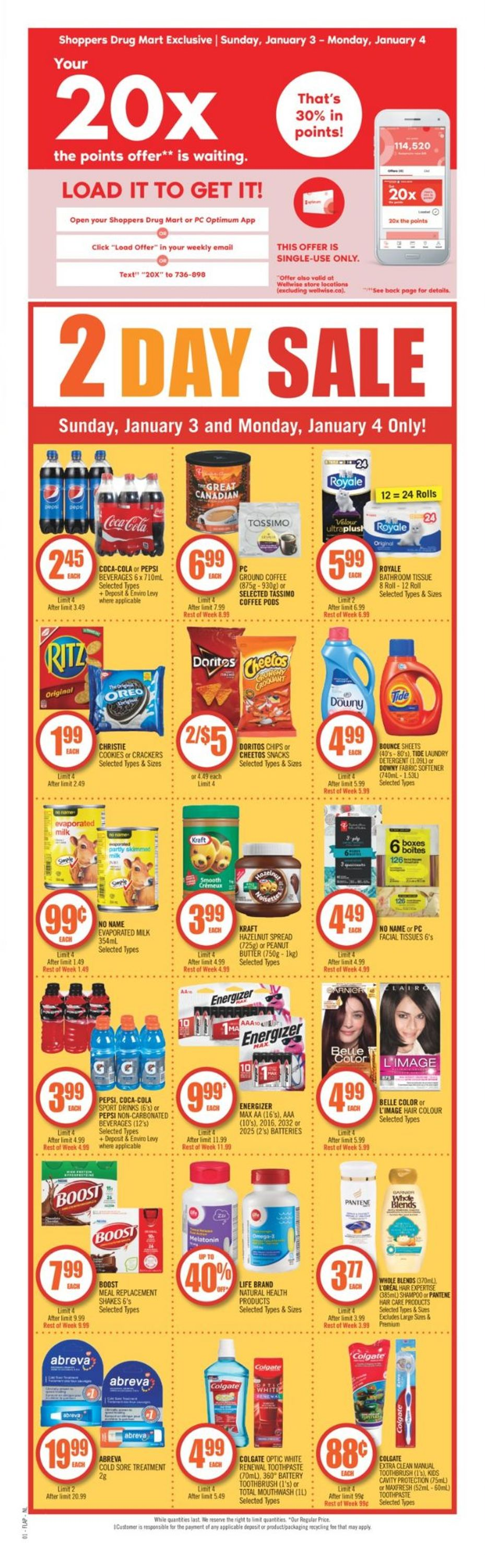 Shoppers Flyer - 01/02-01/07/2021 (Page 2)
