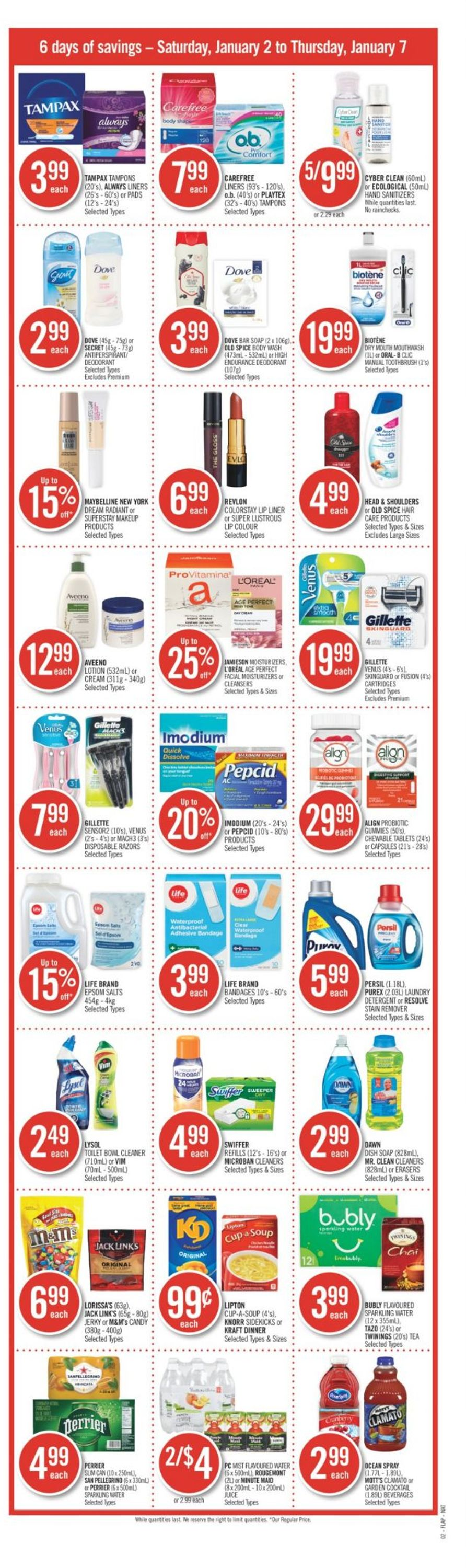 Shoppers Flyer - 01/02-01/07/2021 (Page 3)