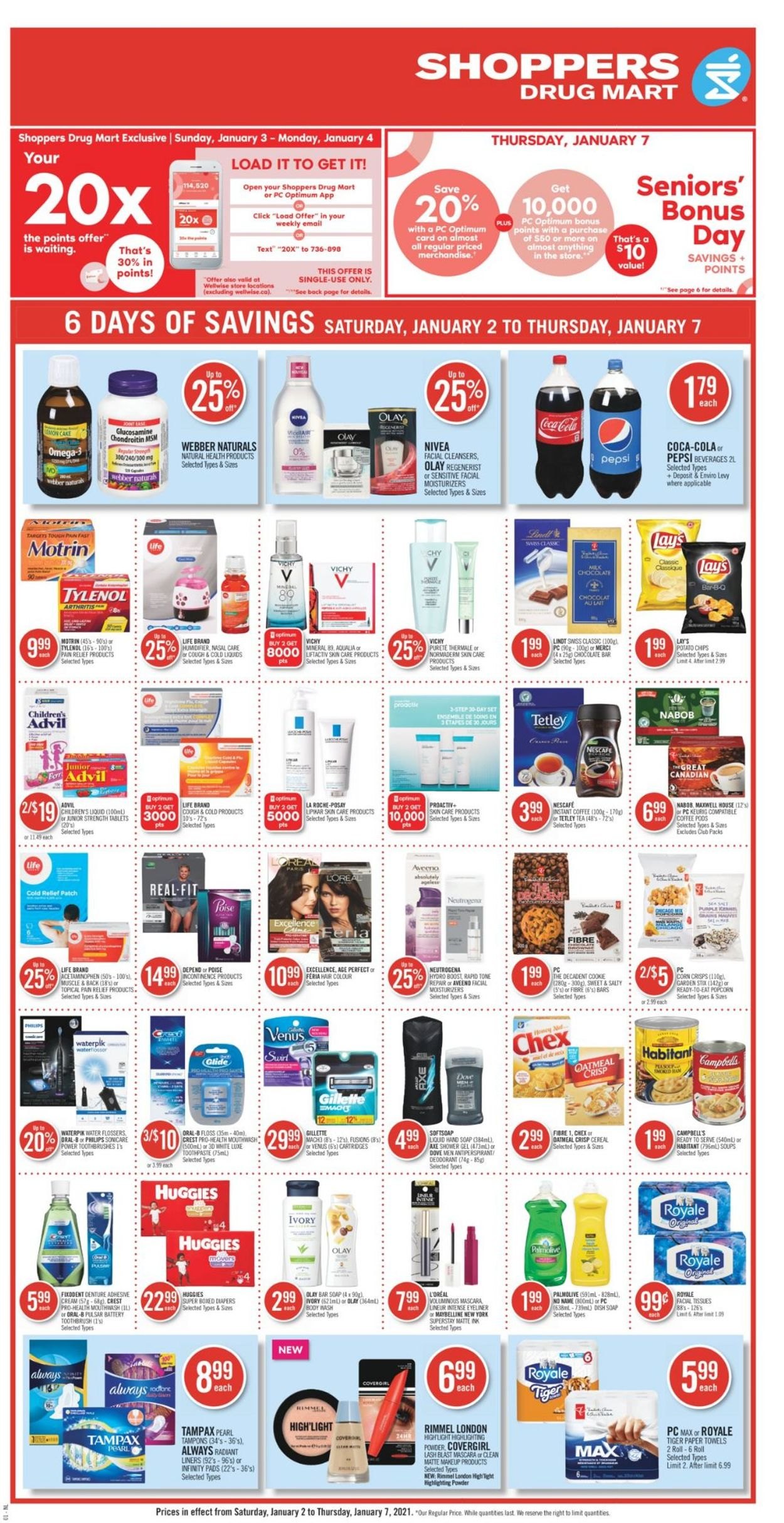 Shoppers Flyer - 01/02-01/07/2021 (Page 4)