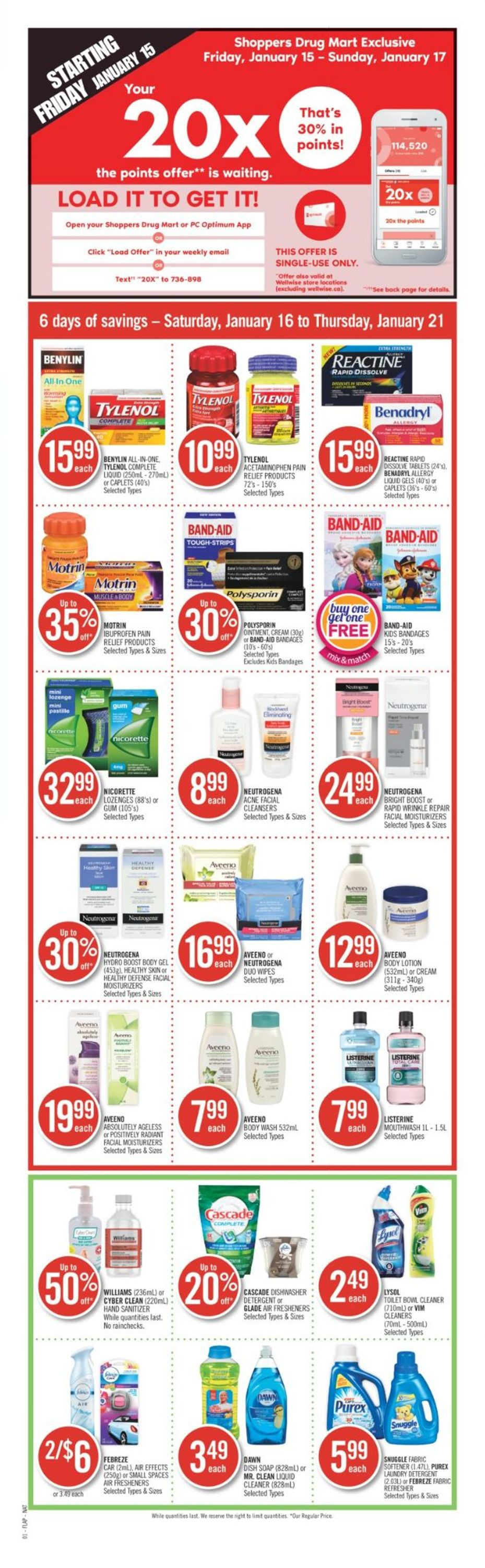 Shoppers Flyer - 01/16-01/21/2021 (Page 2)
