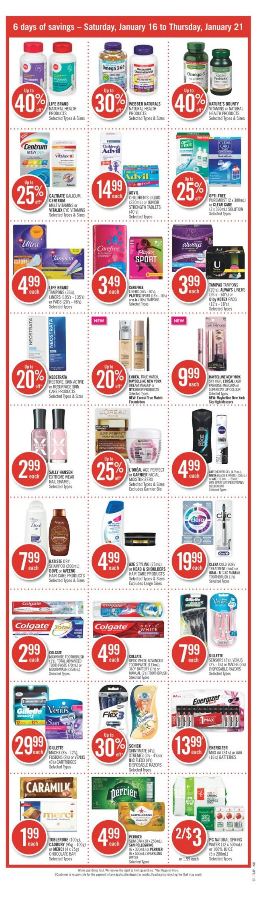 Shoppers Flyer - 01/16-01/21/2021 (Page 3)