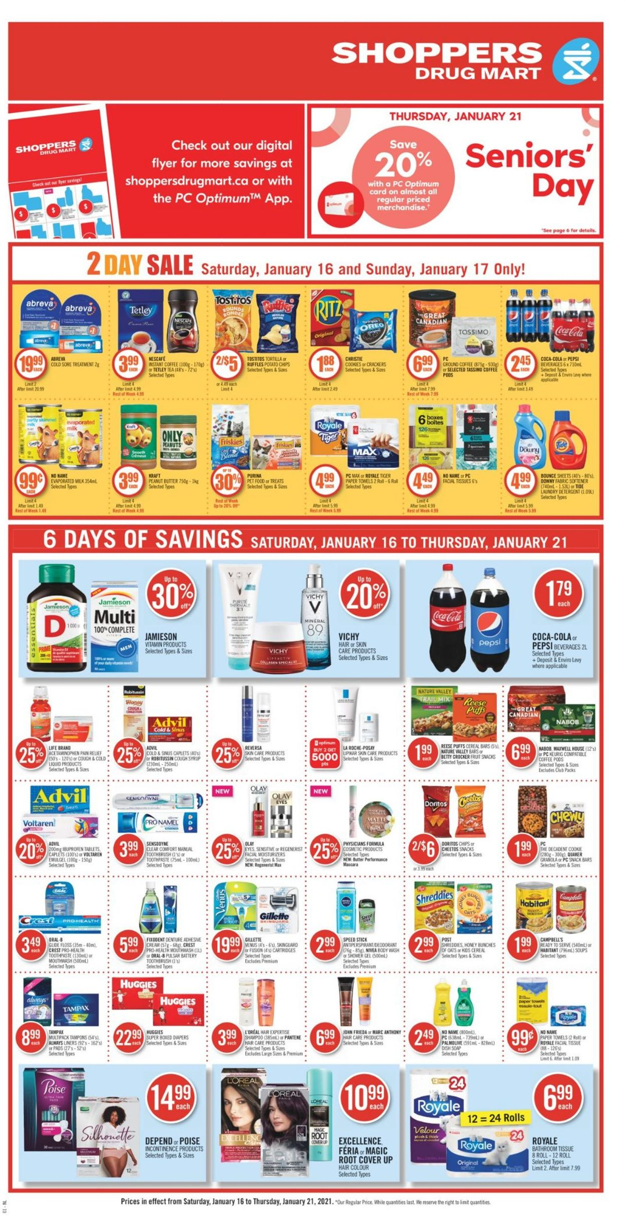 Shoppers Flyer - 01/16-01/21/2021 (Page 4)