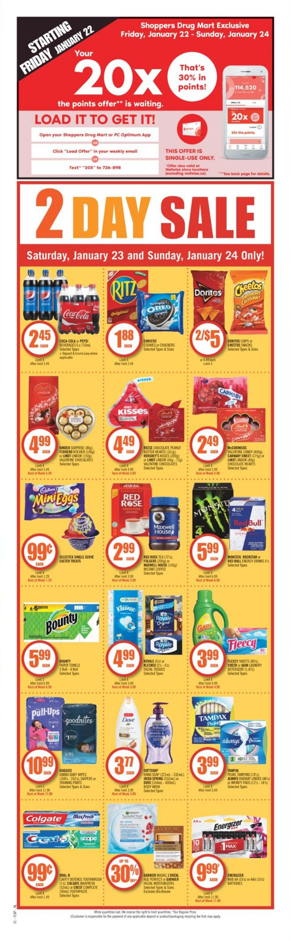 Shoppers Flyer - 01/23-01/28/2021 (Page 2)