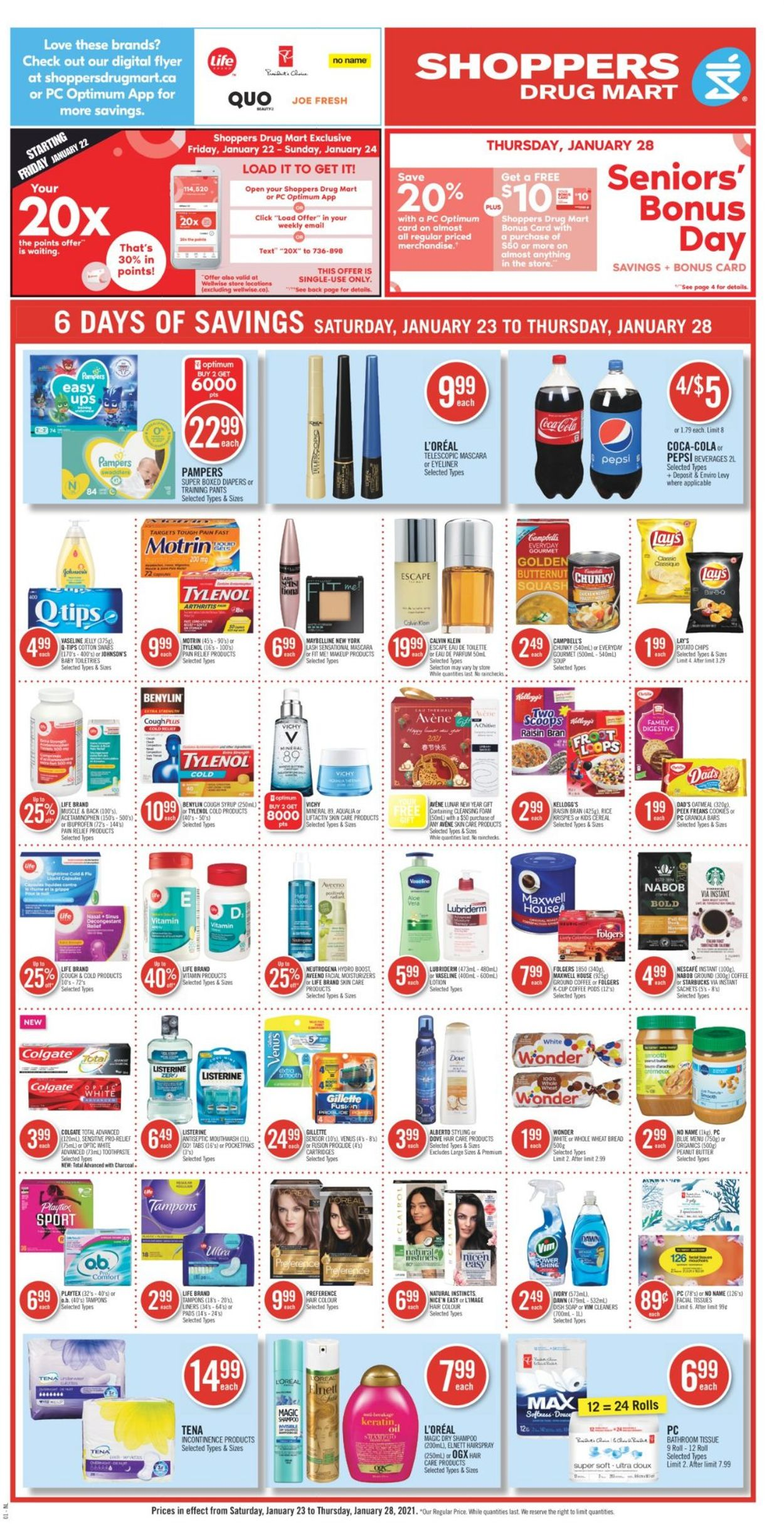 Shoppers Flyer - 01/23-01/28/2021 (Page 4)