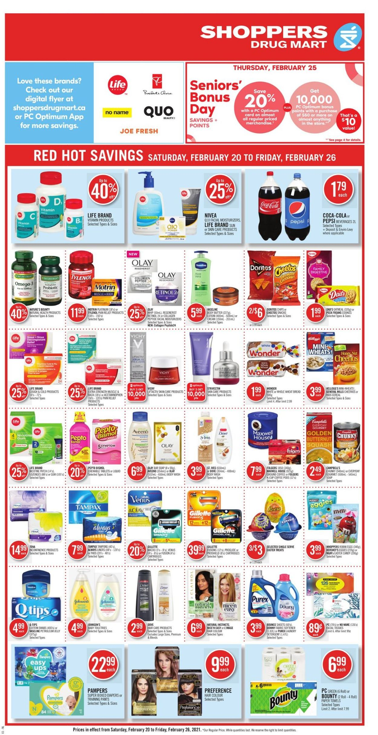 Shoppers Flyer - 02/20-02/26/2021 (Page 4)