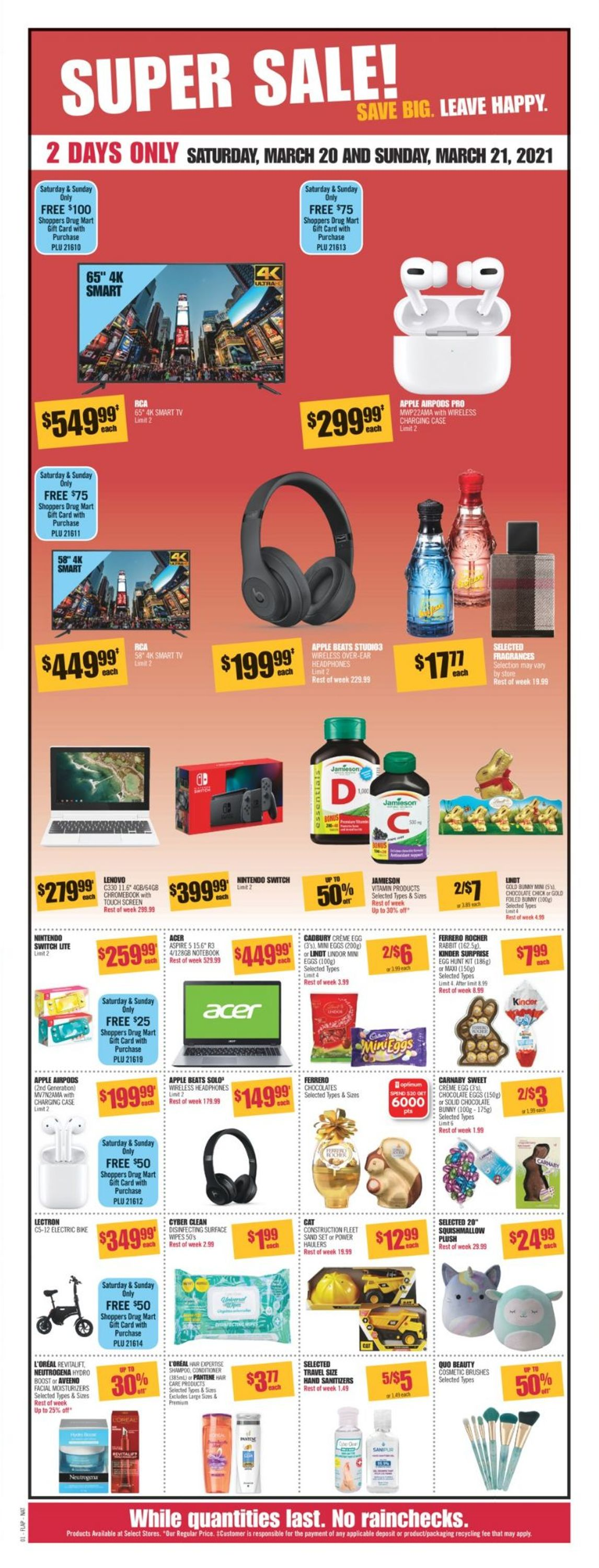 Shoppers Flyer - 03/20-03/26/2021 (Page 2)