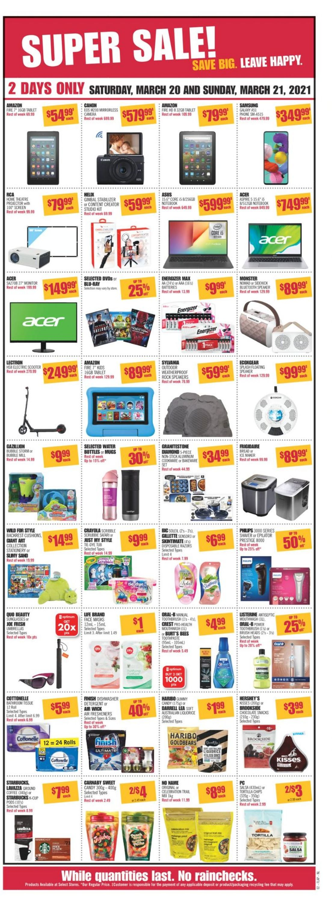 Shoppers Flyer - 03/20-03/26/2021 (Page 3)