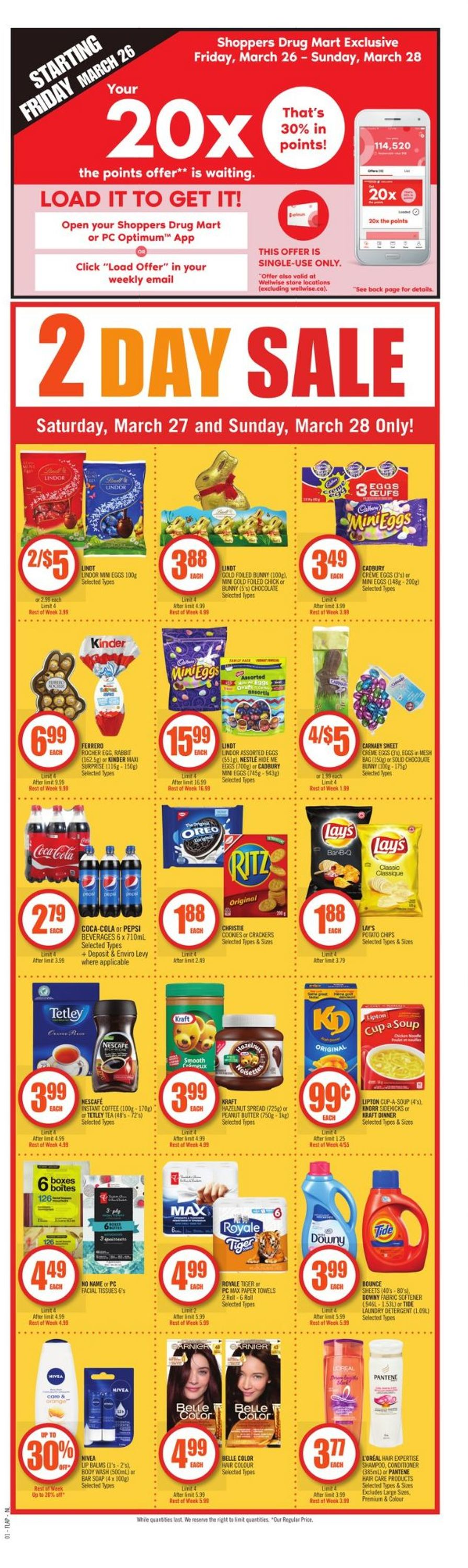 Shoppers Flyer - 03/27-04/01/2021