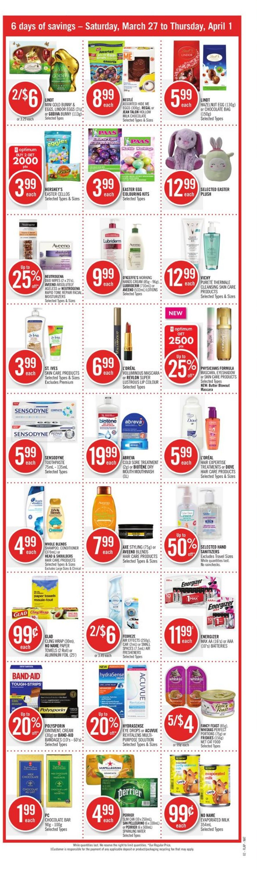 Shoppers Flyer - 03/27-04/01/2021 (Page 2)