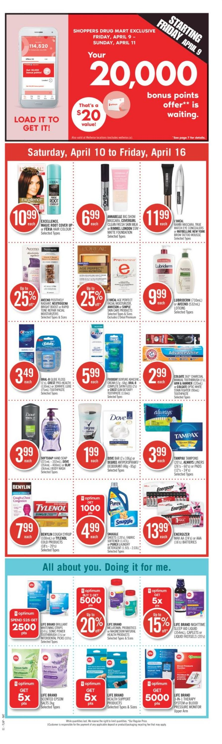 Shoppers Flyer - 04/10-04/16/2021 (Page 4)