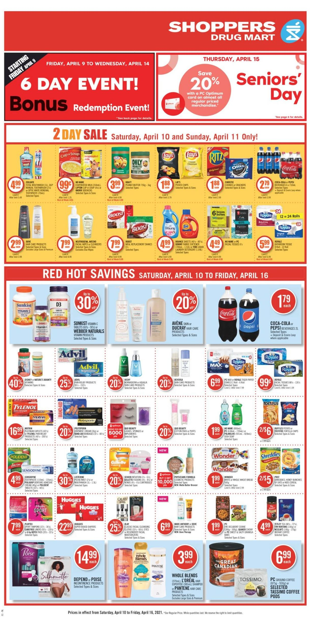 Shoppers Flyer - 04/10-04/16/2021 (Page 6)