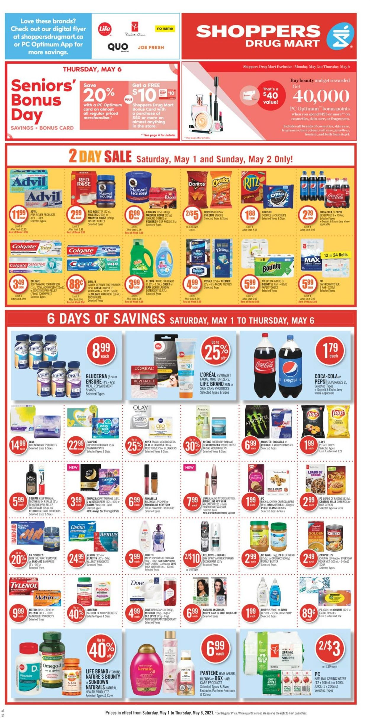 Shoppers Flyer - 05/01-05/06/2021 (Page 4)