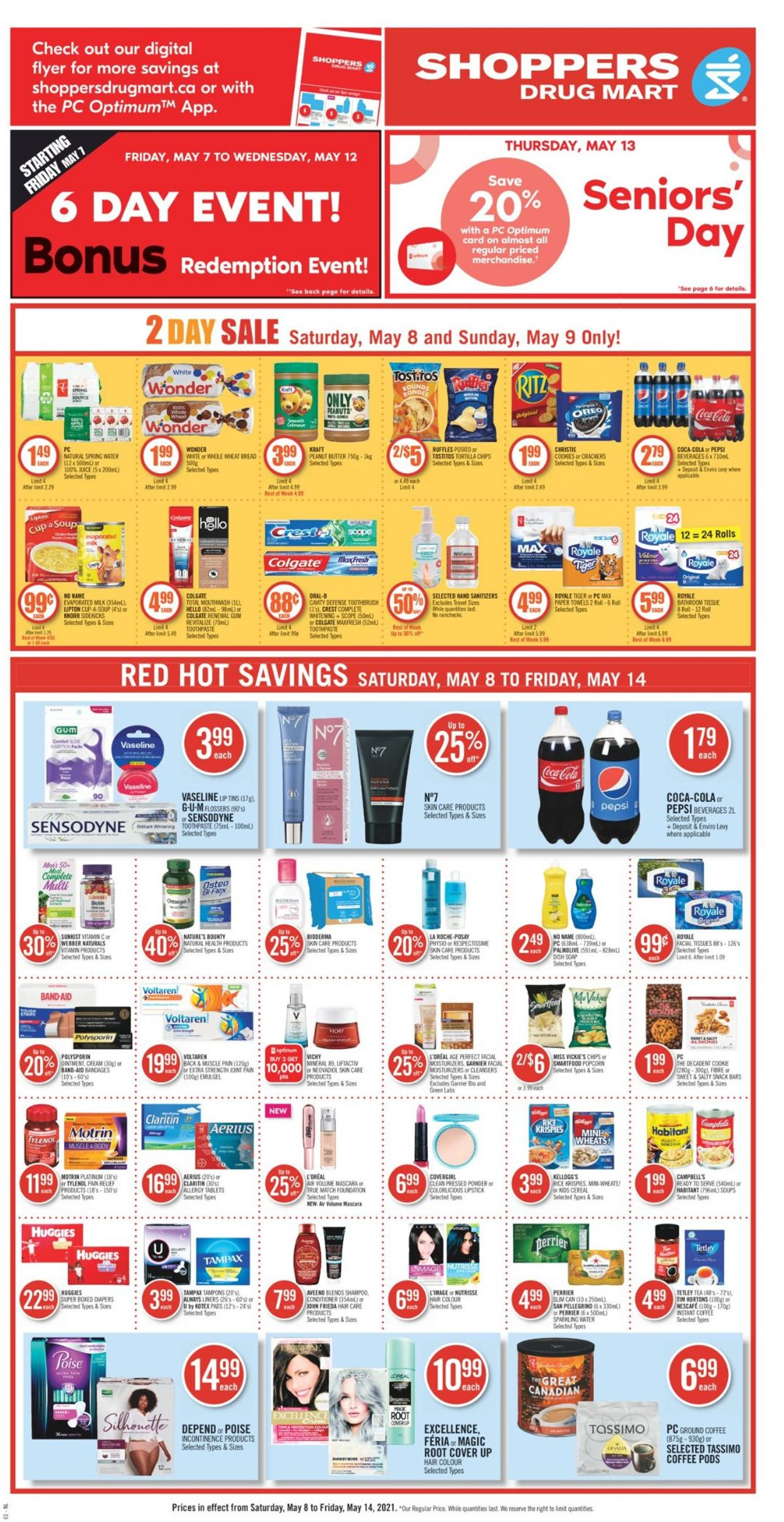 Shoppers Flyer - 05/08-05/14/2021 (Page 6)