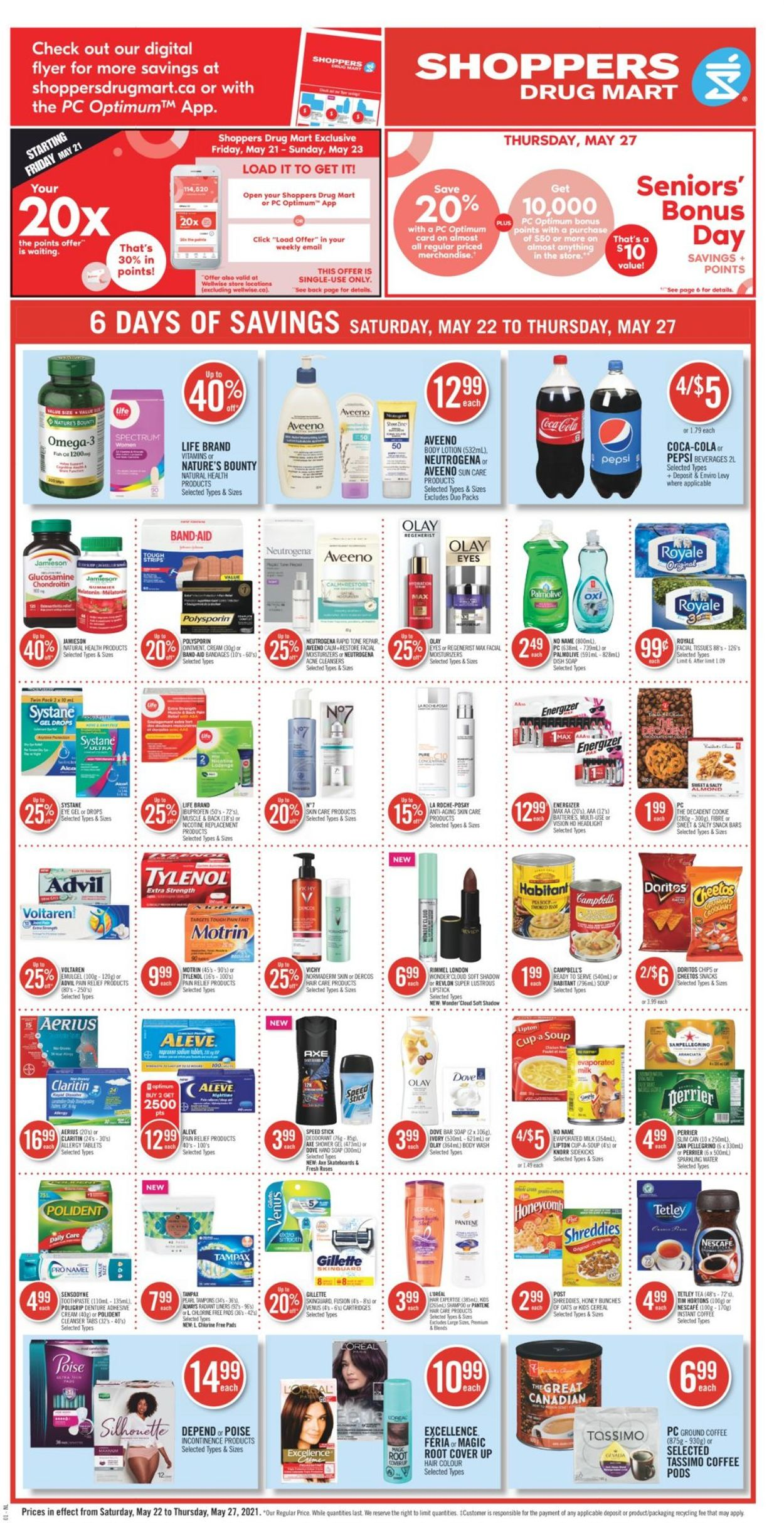 Shoppers Flyer - 05/22-05/27/2021 (Page 4)