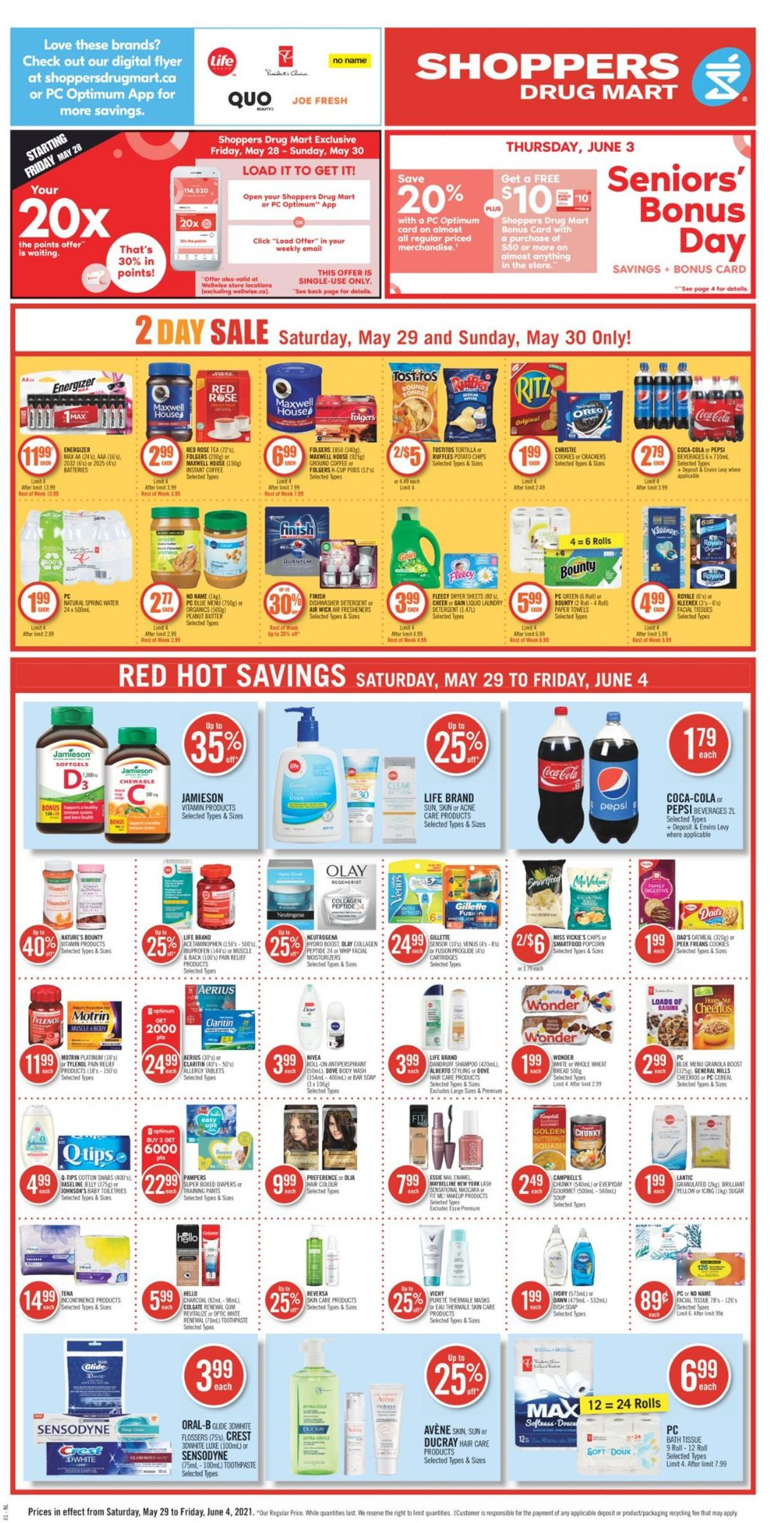 Shoppers Flyer - 05/29-06/04/2021 (Page 4)