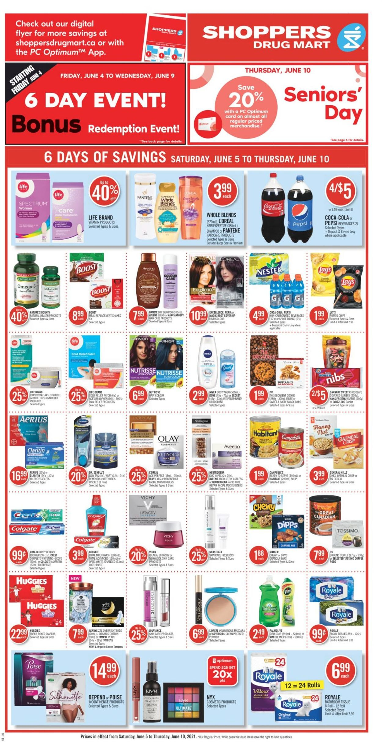Shoppers Flyer - 06/05-06/10/2021 (Page 6)