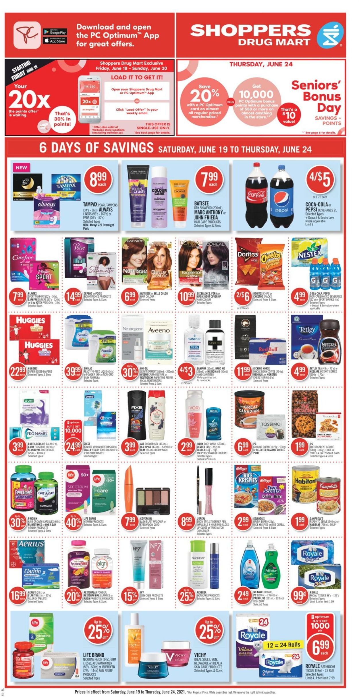 Shoppers Flyer - 06/19-06/24/2021 (Page 3)