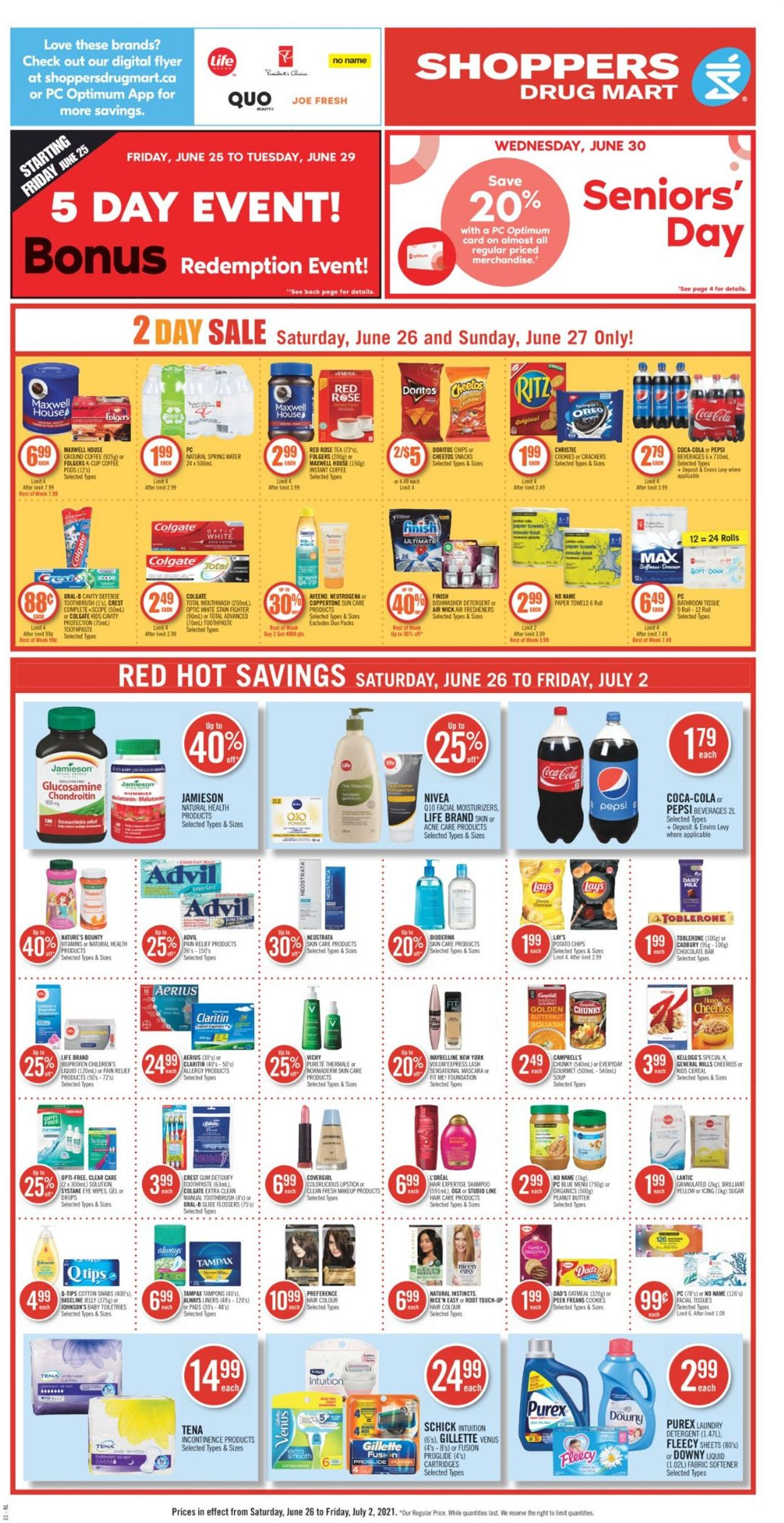 Shoppers Flyer - 06/26-07/02/2021 (Page 5)