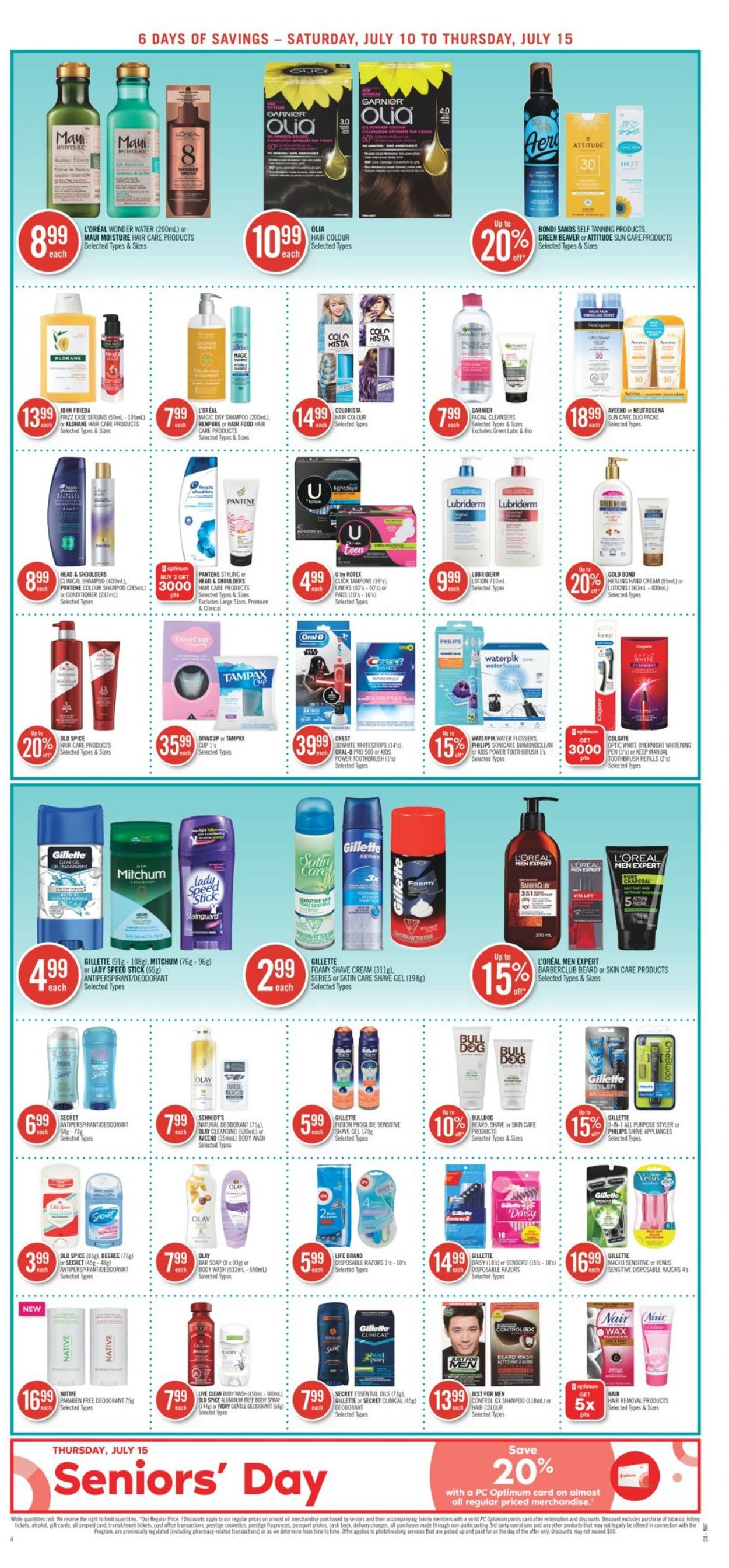 Shoppers Flyer - 07/10-07/15/2021 (Page 6)