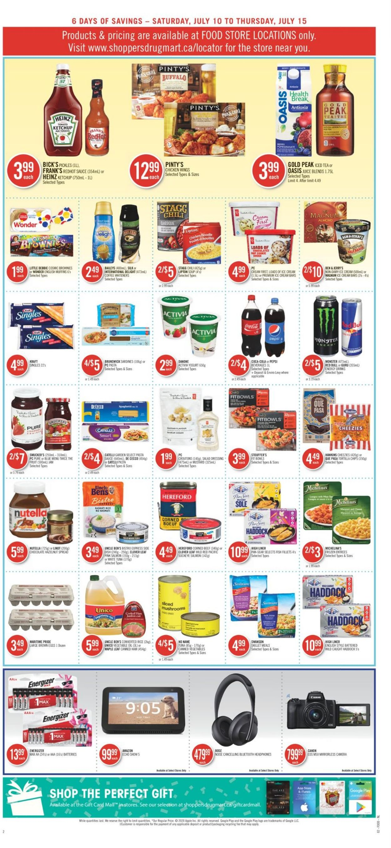 Shoppers Flyer - 07/10-07/15/2021 (Page 8)