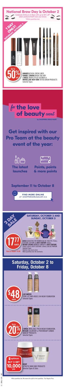 Shoppers Flyer - 10/02-10/08/2021