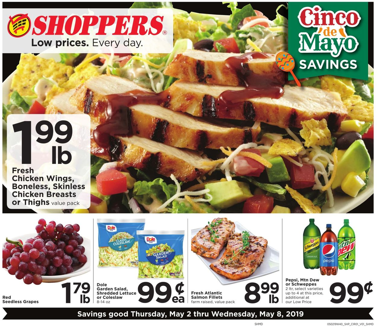 Shoppers Flyer - 05/02-05/08/2019