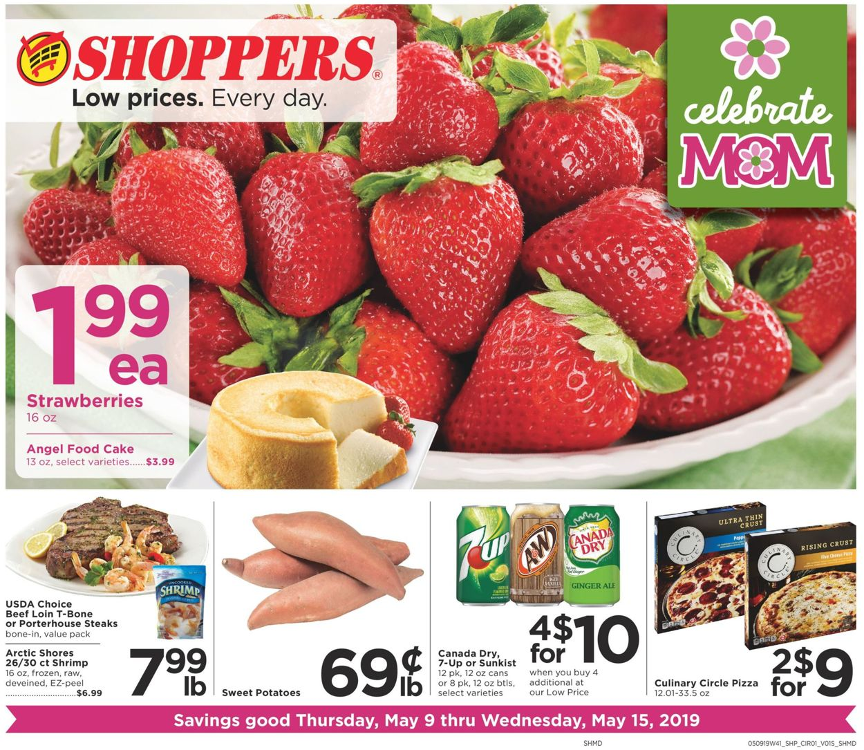 Shoppers Flyer - 05/09-05/15/2019