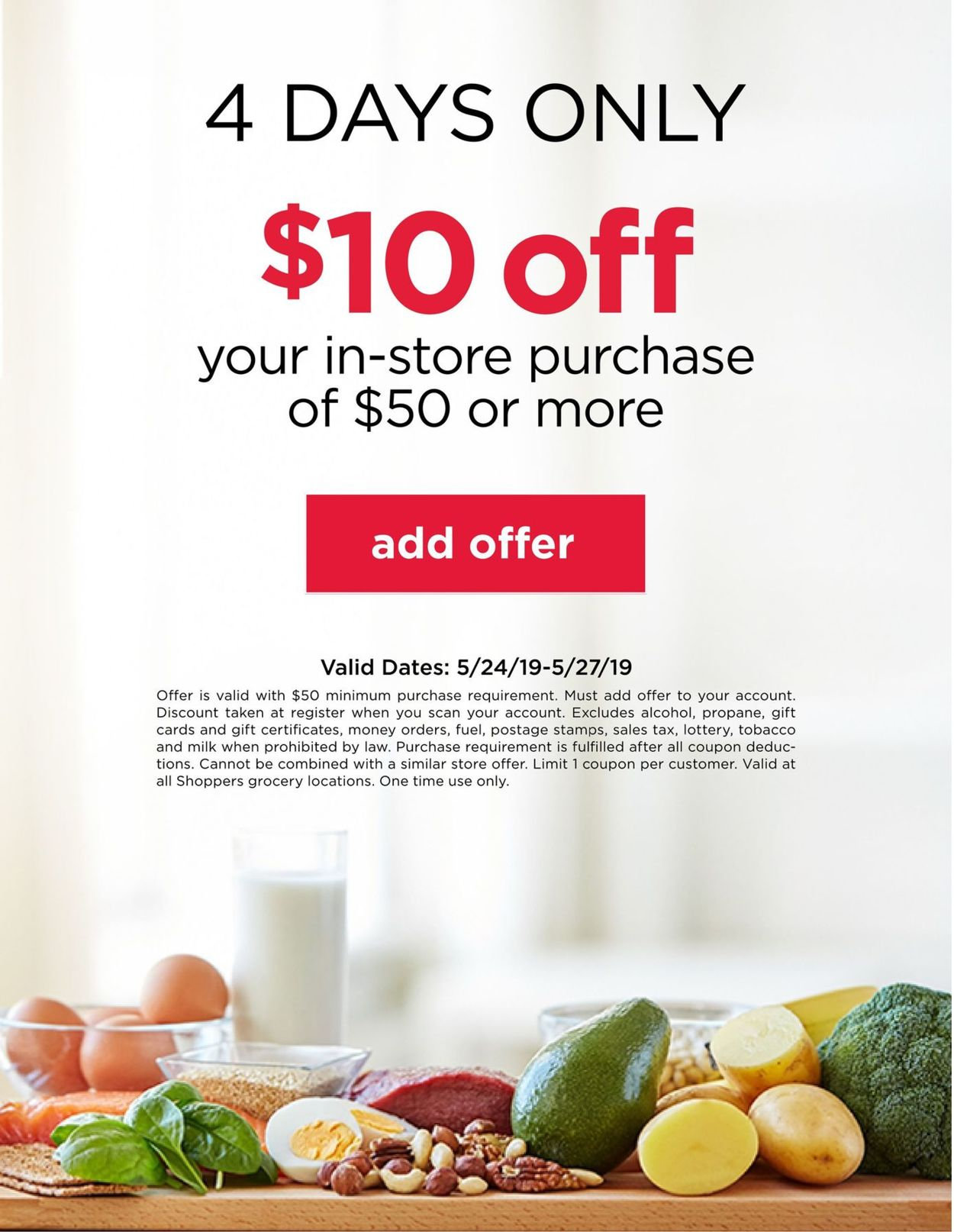Shoppers Flyer - 05/24-05/27/2019