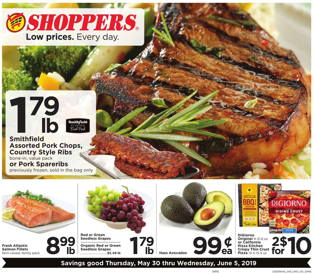 Shoppers Flyer - 05/30-06/05/2019