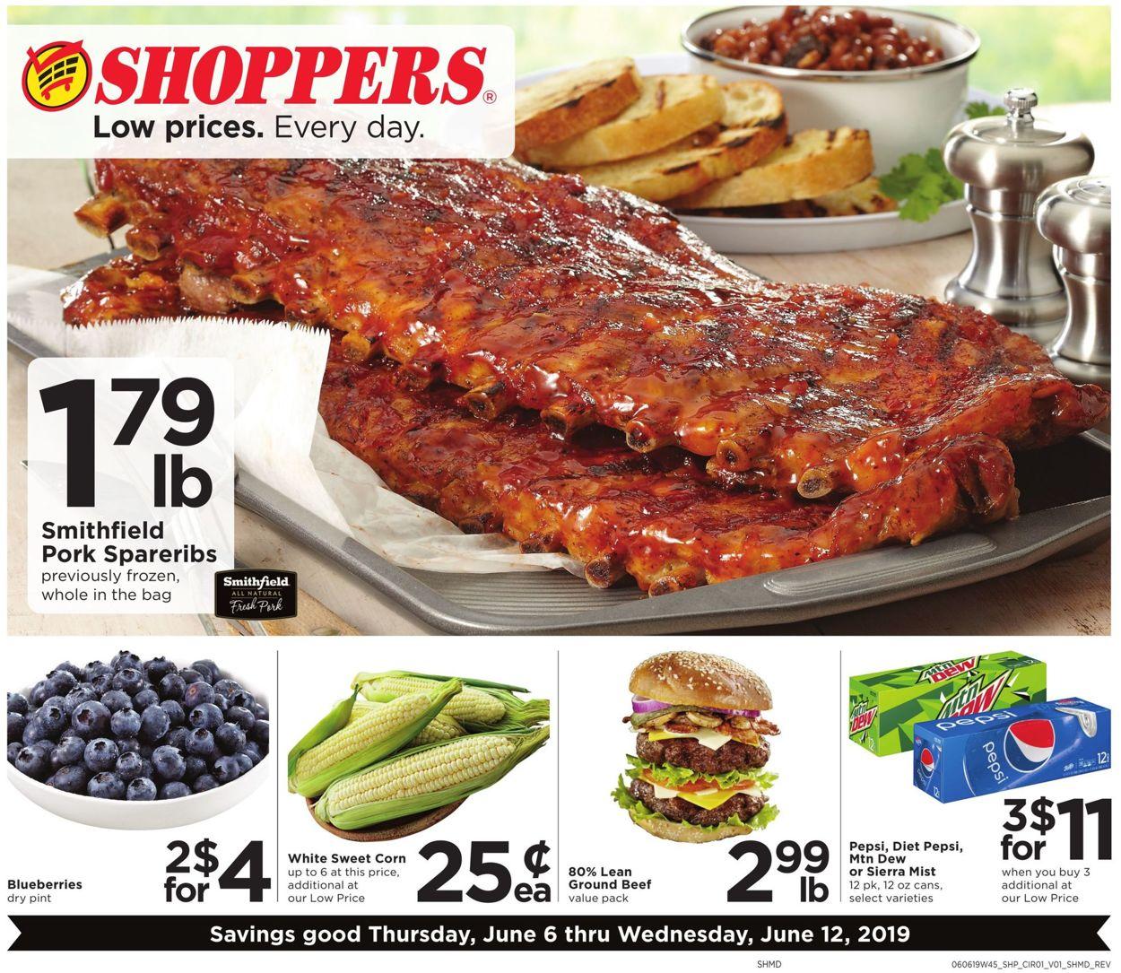 Shoppers Flyer - 06/06-06/12/2019