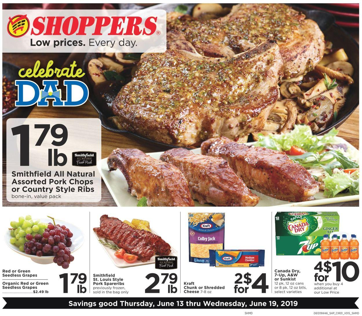 Shoppers Flyer - 06/13-06/19/2019