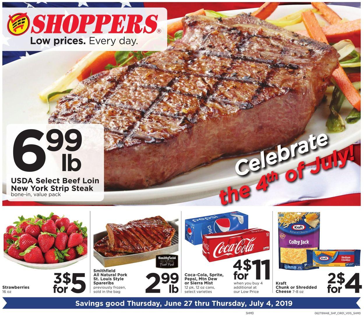 Shoppers Flyer - 06/27-07/04/2019