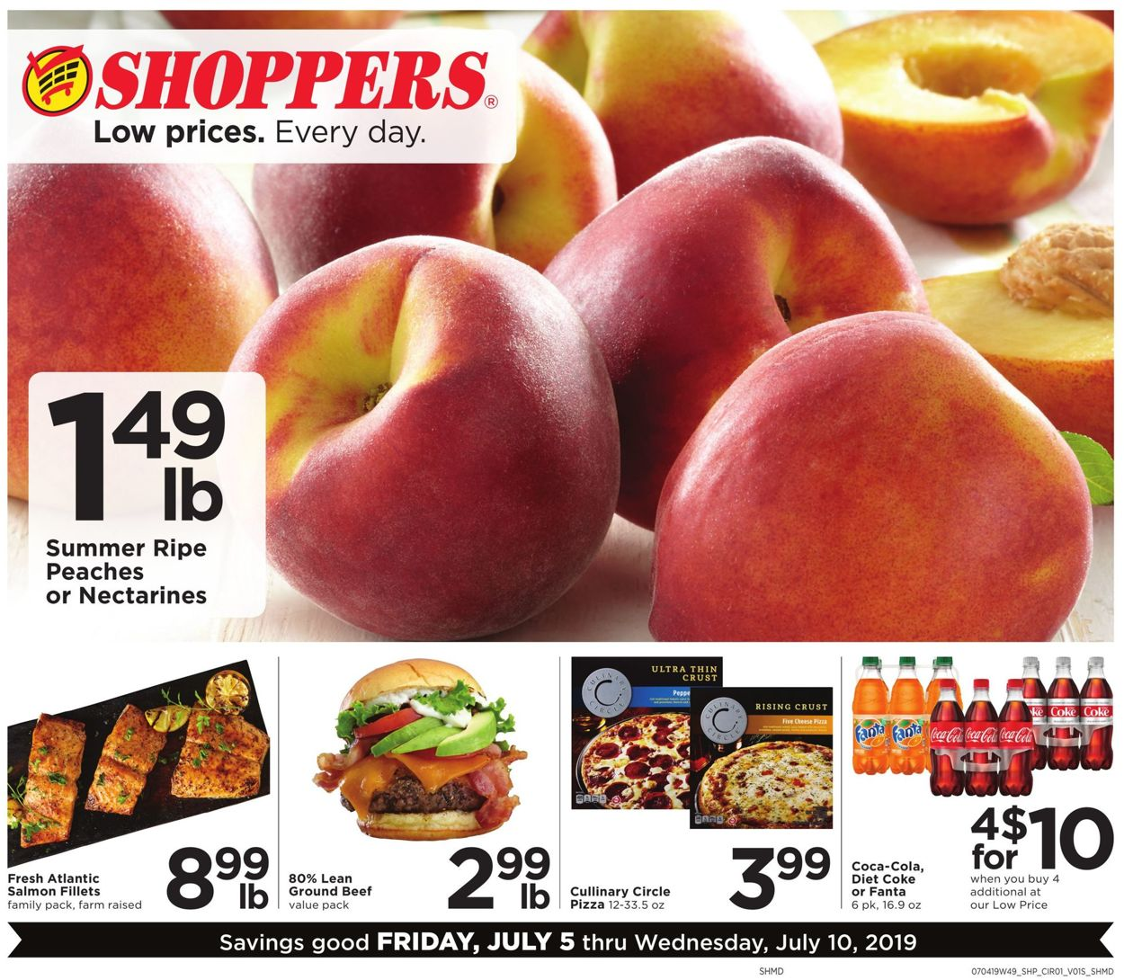 Shoppers Flyer - 07/05-07/10/2019