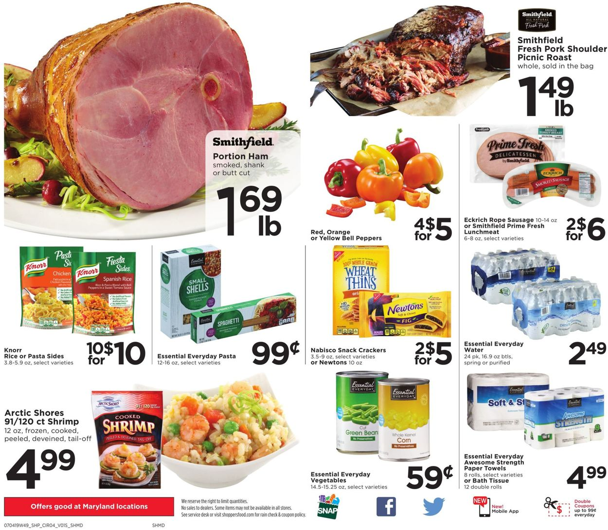 Shoppers Flyer - 07/05-07/10/2019 (Page 4)