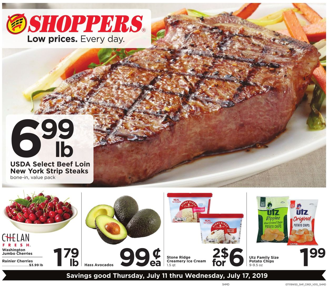 Shoppers Flyer - 07/11-07/17/2019