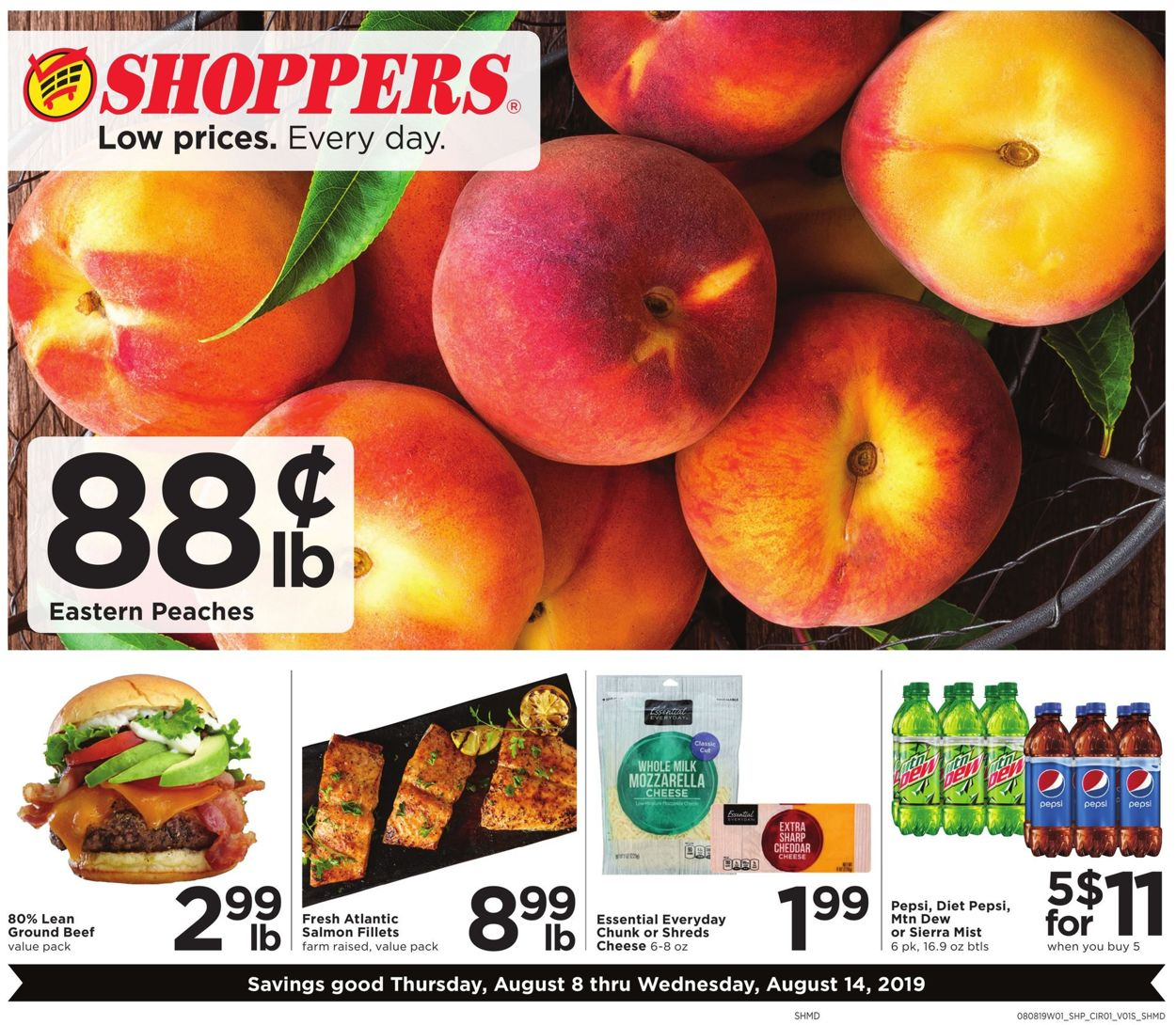 Shoppers Flyer - 08/08-08/14/2019