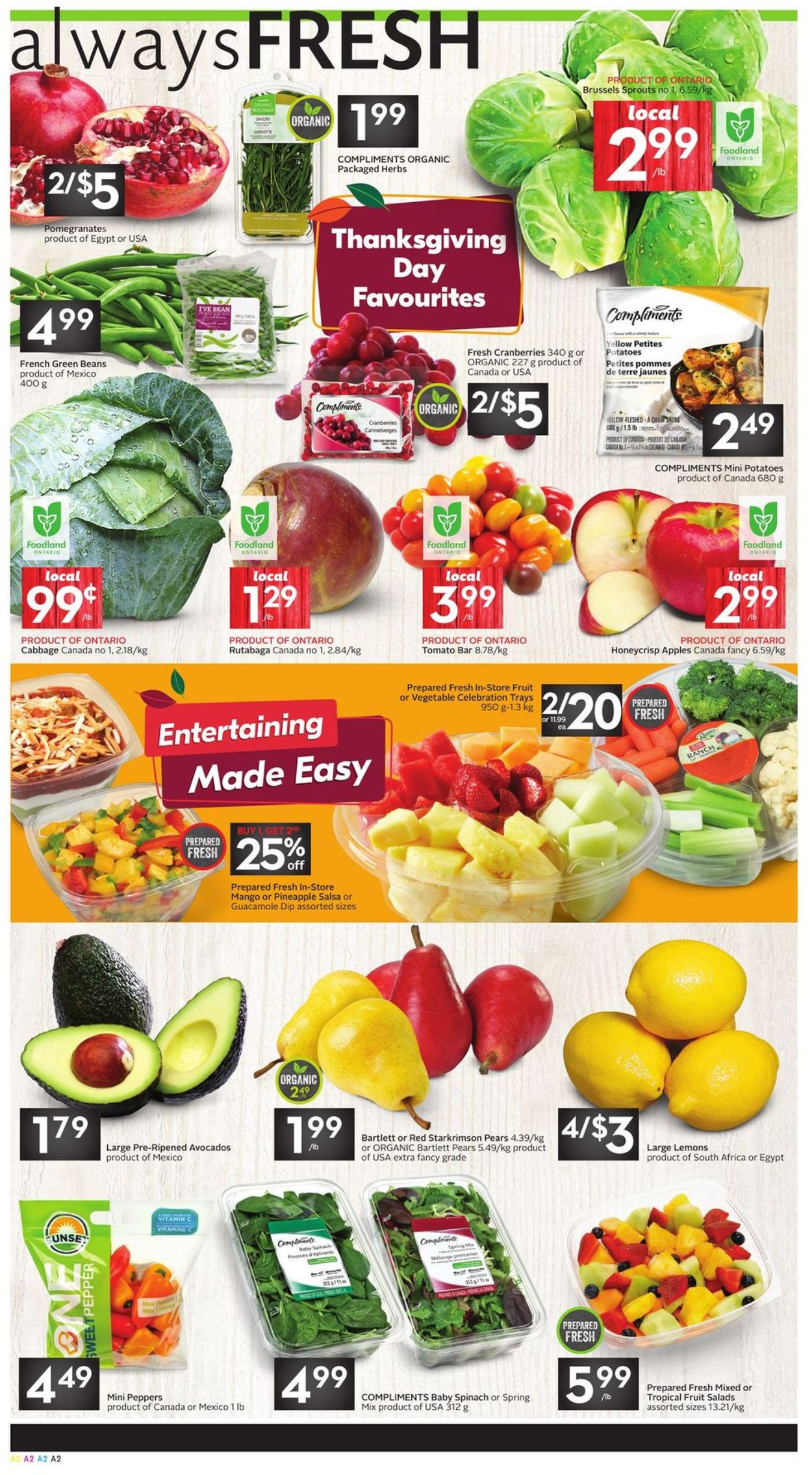 Sobeys Flyer - 10/10-10/16/2019 (Page 2)